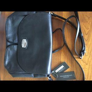 NWT Authentic Tignanello Genuine Leather Bag